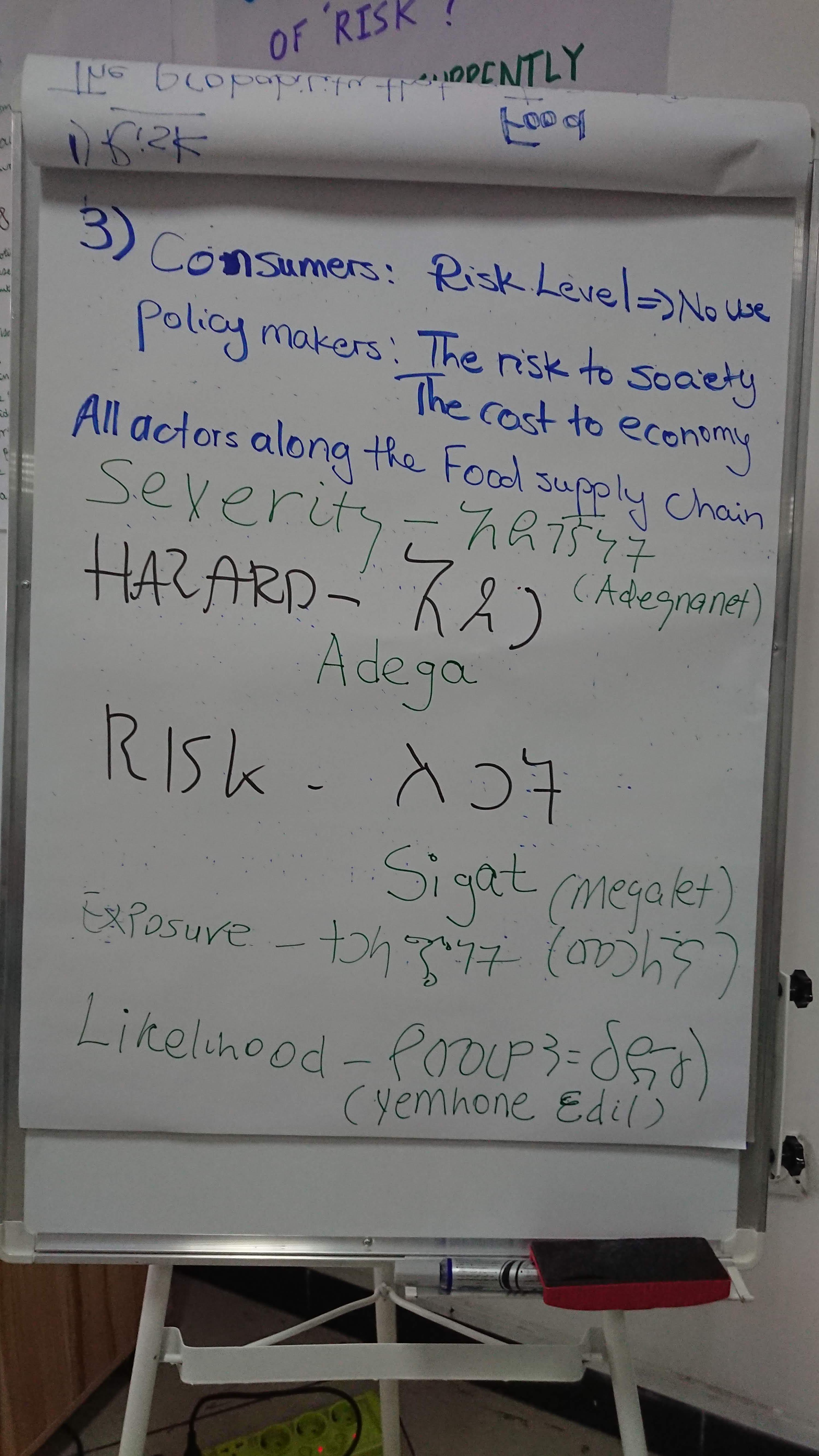 Hazard vs. Risk