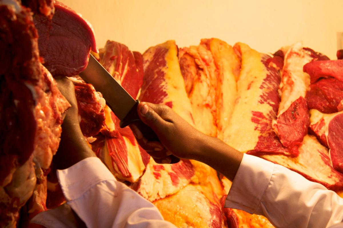 Ethiopian Butcher