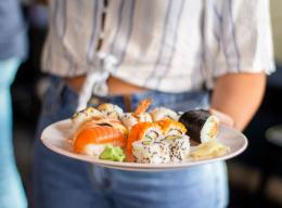 Sushi - photo by Louis Hansel on unsplash.com