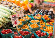 Farmer's Market - photo by Anne Preble on unsplash.com
