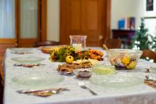 Holiday Table photo by Christopher Paul High on unsplash.com