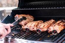 Grilling Steak and Meat Thermometer - Photo by Getty Images
